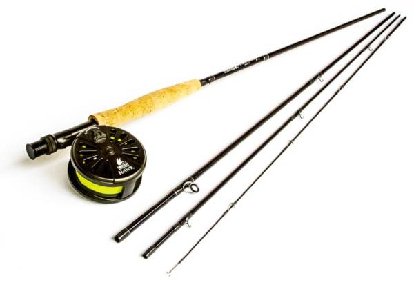 TIMBER HAWK Fly Rod, Reel & Line Combo Fishing Gear & Supplies