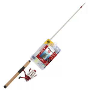 Shakespeare Catch More Fish Spinning Rod And Reel Combo For Bass Fishing Gear & Supplies