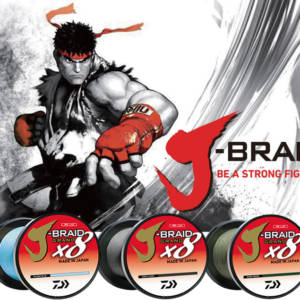 J-BRAID x8 GRAND BRAIDED LINE Fishing Gear & Supplies
