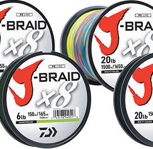 J-BRAID x8 BRAIDED LINE Fishing Gear & Supplies