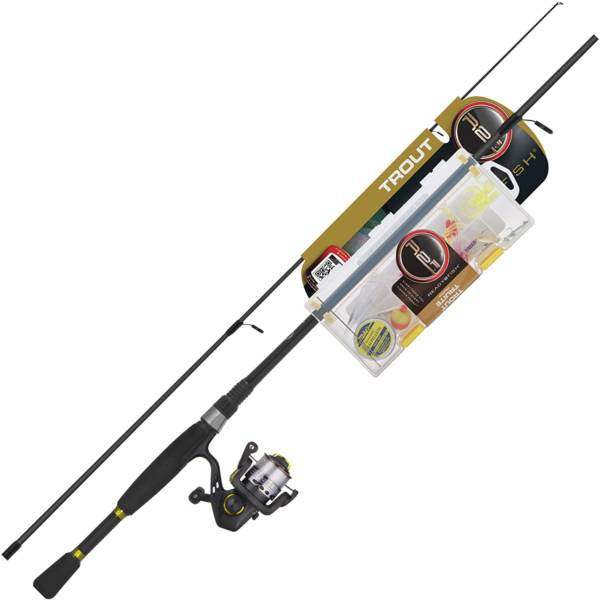 Ready 2 Fish Trout Spin Ultralight Combo with Kit Fishing Gear & Supplies