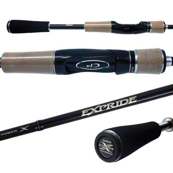 Shimano Expride Spinning Rod Fishing Gear & Supplies
