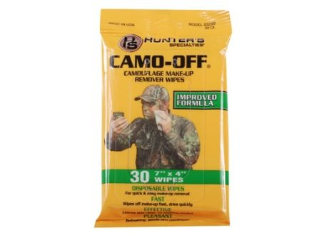 Hunters Specialties Camo Off Make Up Remover Hunting Accessories