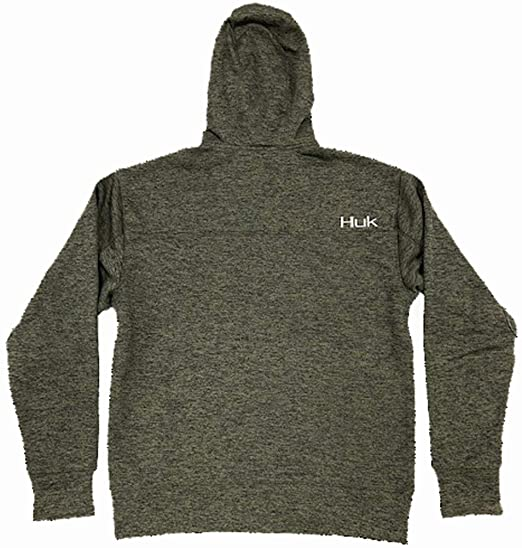 HUK Mens Fin Tech Zip Apparel
