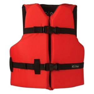 Onyx Youth Red/Black Life Jacket Fishing Gear & Supplies