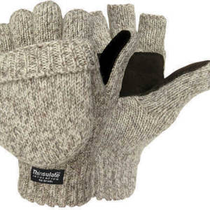 Jacob Ash Pop-Top Gloves – Insulated Ragg Wool Apparel