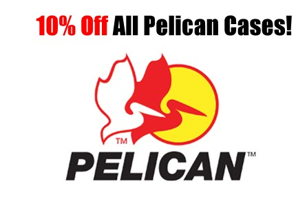 Fourth of July Sale Saves 10% of All Pelican Cases