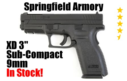 Banner Springfield Armory Defend Your Legacy XD9 3 inch In Stock
